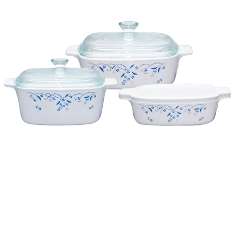 Can coringware go in the oven
